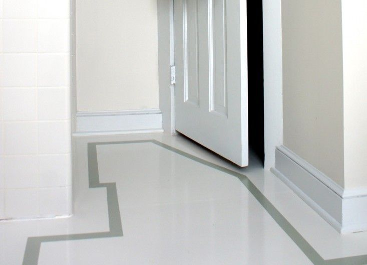 Remodeling 101 Painted Plywood The Best Budget Wood Floor Painted Plywood Floors Plywood Flooring Flooring