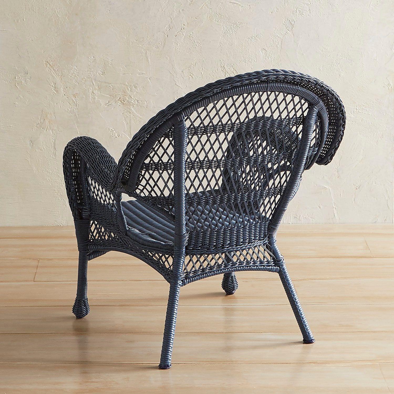 Santa Barbara Blue Armchair Patio Chairs Blue Armchair Classic