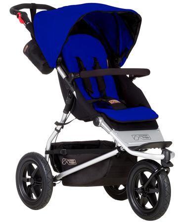 Mountain Buggy Прогулочная Urban Jungle Marine  — 49950р. ------ Прогулочная коляска Mountain Buggy Urban Jungle Marine предназначена для детей от 6 месяцев до 3 лет. Можно приобрести и установить дополнительный, чтобы использовать ее для новорожденных или возить погодок.