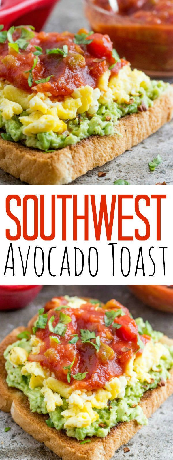 Southwest avocado toast recipe avocado toast salsa and lunches food perfect for breakfast lunch or dinner forumfinder Choice Image