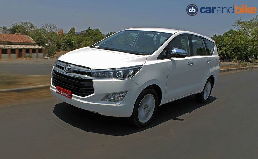 New Toyota Innova Crysta Launched Price Starts At Rs 13 84 Lakh Carandbike Toyota Innova Toyota Toyota Corolla