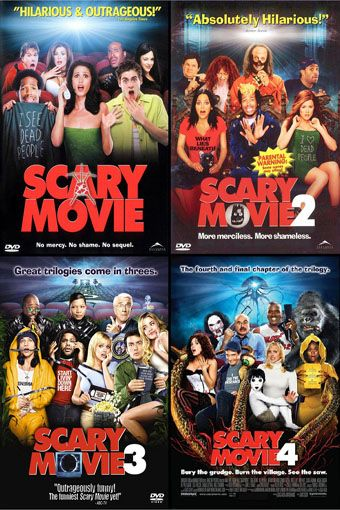 Scary Movie Trilogy Plus The Final Chapter Scary Movies Scary Movie 1 Scary Movie 5