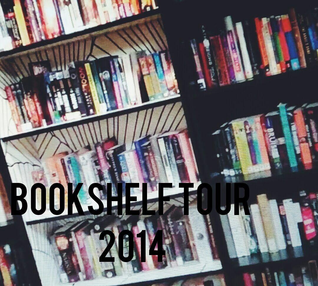 Mallory's 2013 bookshelf tour