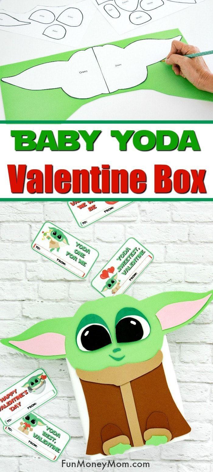 Baby Yoda Valentine Box