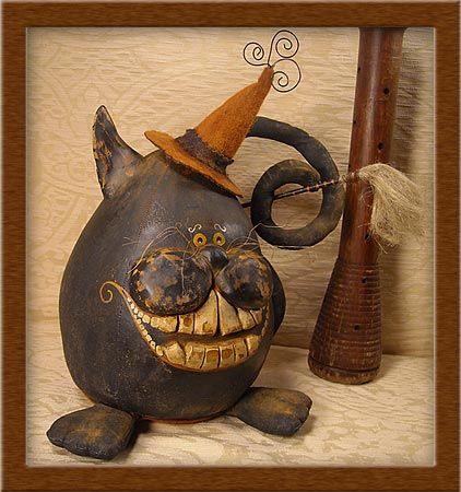 McSqueamish PODD Cat©2010 All Hallow\u0027s Eve Pinterest - halloween arts and crafts decorations