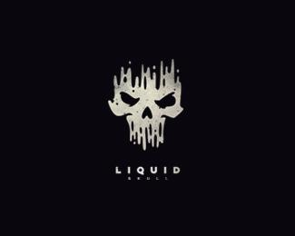 skull logo design
