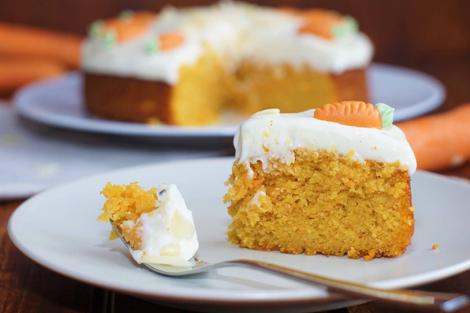 Karottenkuchen Mit Frischkasecreme Affektblog De Rezept Karotten Kuchen Karottenkuchen Einfacher Nachtisch