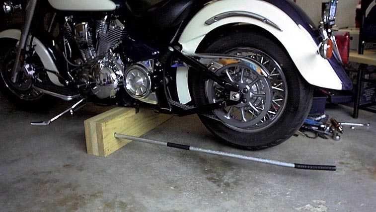 Yamaha Road Star Reverse Trike