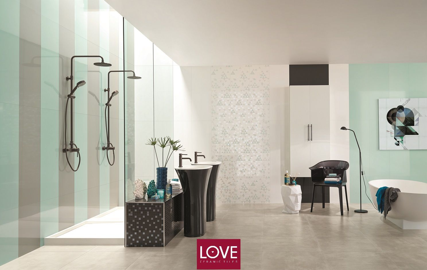 collection acqua by love tiles ceramictiles home. Black Bedroom Furniture Sets. Home Design Ideas