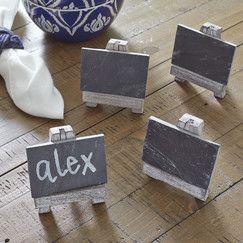 Easel Mini Chalkboards (Set of 4)