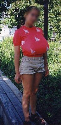 Tw girl breast