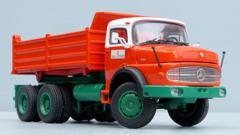 Conrad Mercedes Benz LAK 2624 Truck 'Jean Lefebvre' by Cranes Etc ..