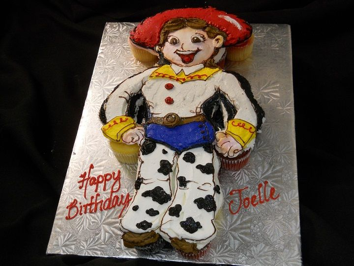 Prime Cupcakes And Pull Apart Cupcake Cakes The Bake Shoppe Toy Story Funny Birthday Cards Online Drosicarndamsfinfo