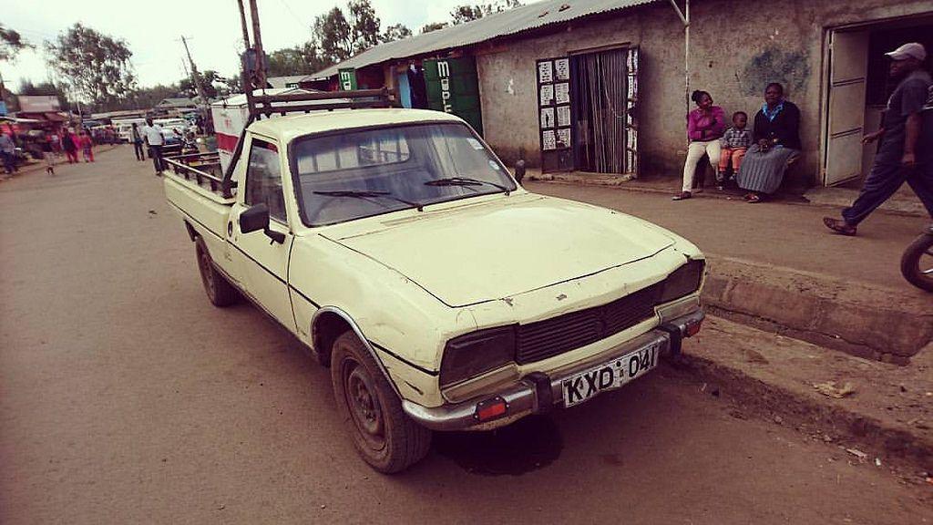 1976 Peugeot 504 Ute Yes Ute Kenya Made Andrew Hirst Why Aren T