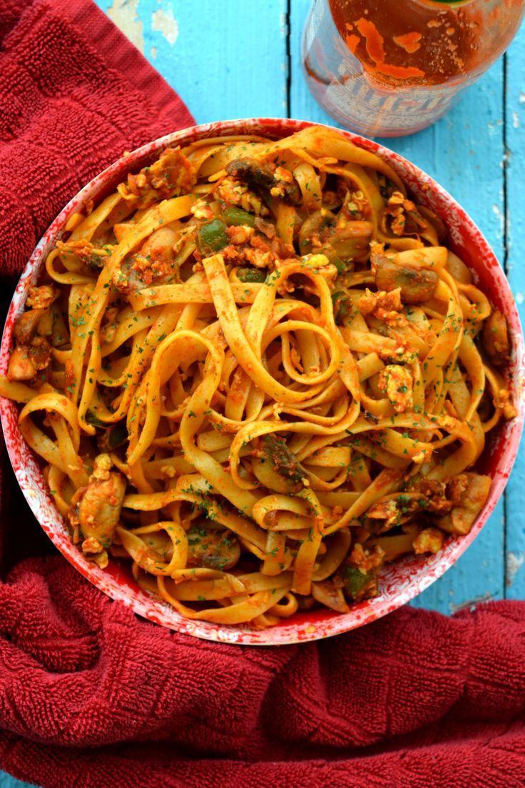 One Pot Spicy Thai Noodles Recipe Spicy recipes, Spicy