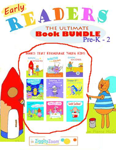 Early Reader Book Bundle For Beginning Readers Easy Reader