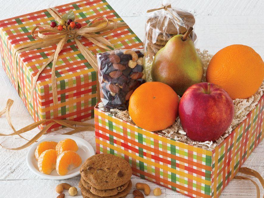 Celebration gift box gourmet fruits treats hale groves