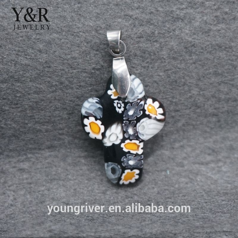 Wholesale fashion jewelry cross murano glass pendants jewelry for wholesale fashion jewelry cross murano glass pendants jewelry for women mozeypictures Image collections