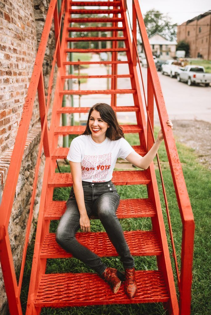 Civic Engagement with Style: My Favorite Voting Pieces and Accessories | Greta Hollar Trendy Outfits