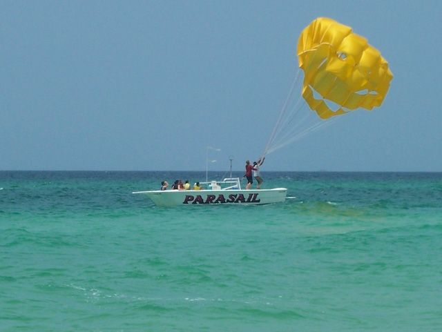 Panama City Beach Florida Parasailing
