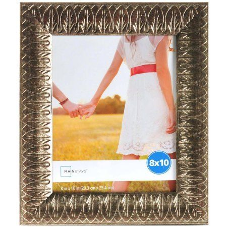 Mainstays 8 Inch X 10 Inch Pewter Ornate Embossed Frame Silver Frame Mainstays 10 Things