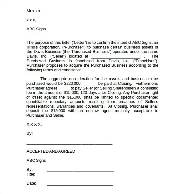 business purchase agreement pdf and sales the free letter template - sample purchase agreements