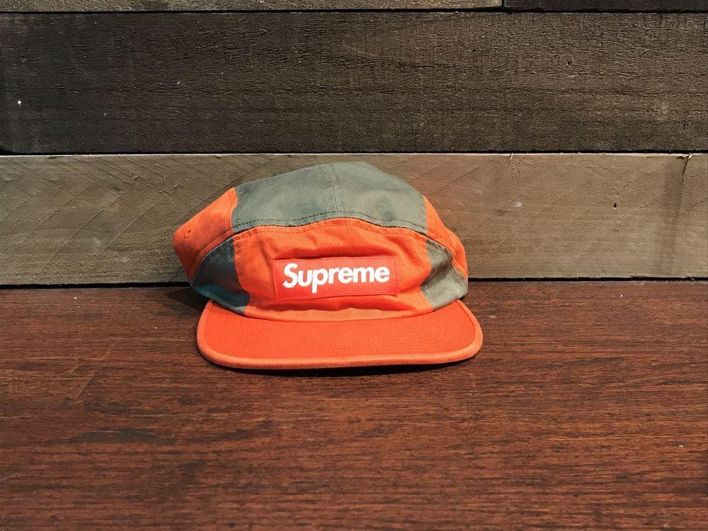 originale più votato moderno ed elegante nella moda moderno ed elegante nella moda Supreme Contrast Panel Camp Cap Orange #fashion #clothing ...
