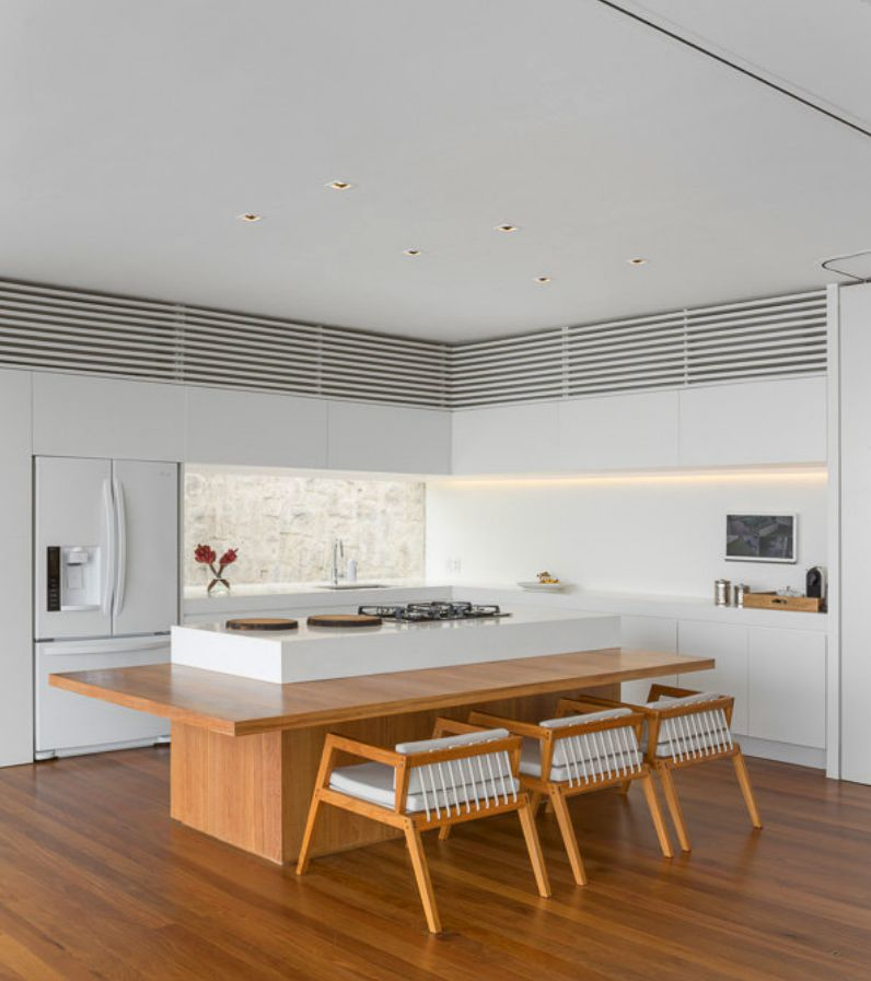 """New Modern Kitchens At Neil Lerner: Alex Lerner's """"Purist Paradise"""""""