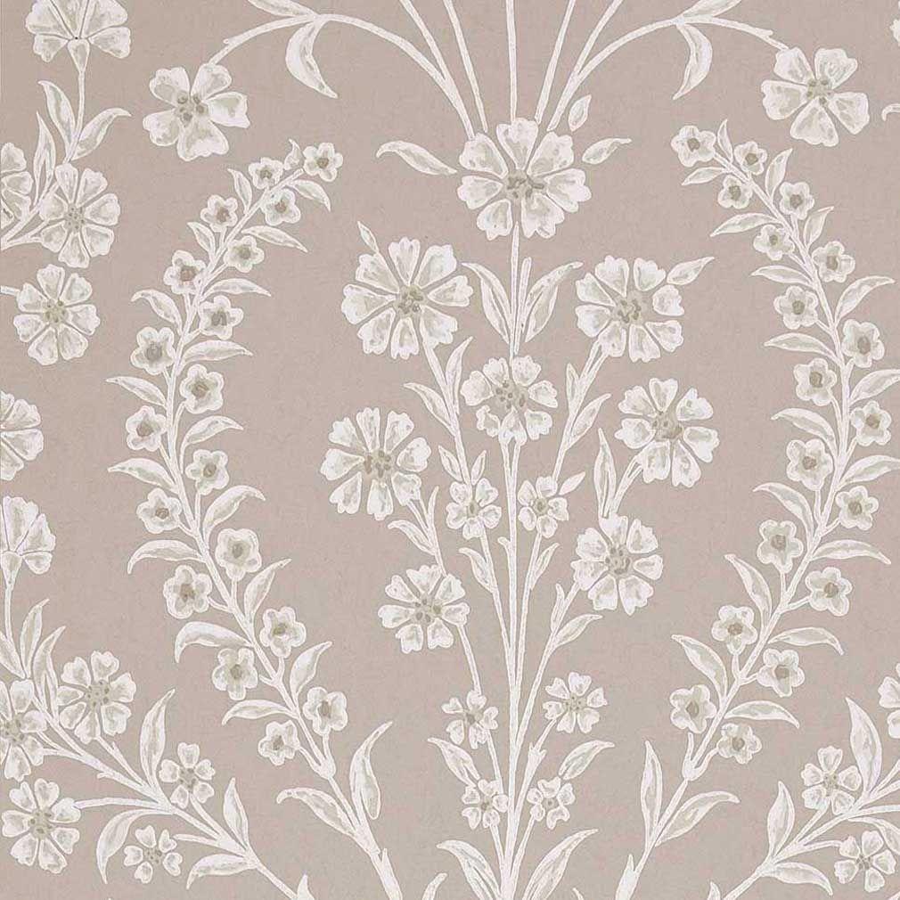 Chelwood Wallpaper Grey floral wallpaper, Wallpaper