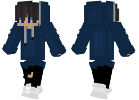Minecraft Skins Long Hoodie Skin Png Image With Transparent Background Png Free Png Images Long Hoodie Minecraft Skins Minecraft