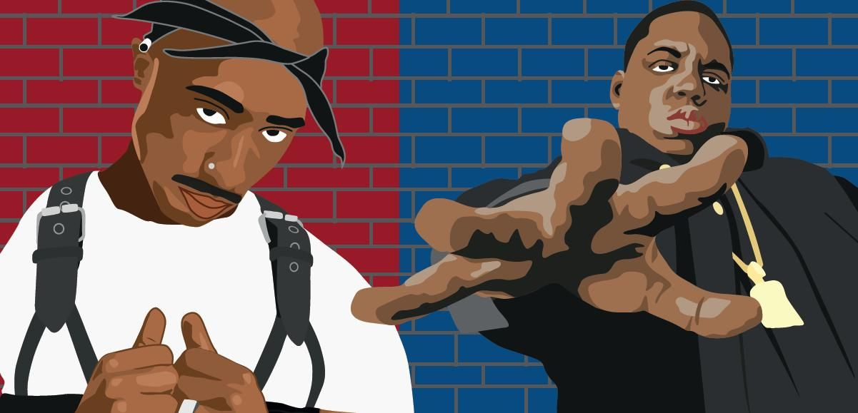 2pac Cartoon Wallpaper