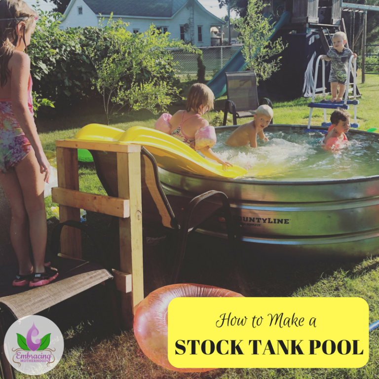 How To Make A Stock Tank Pool