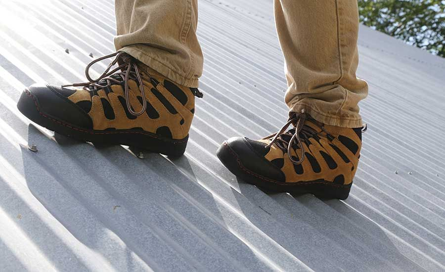 Roofing Shoes For Metal Roofs Australia In 2020 Metal Roof Good Work Boots Nice Shoes