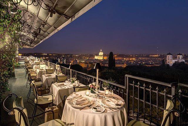 Terrazza del Mirabelle a Roma