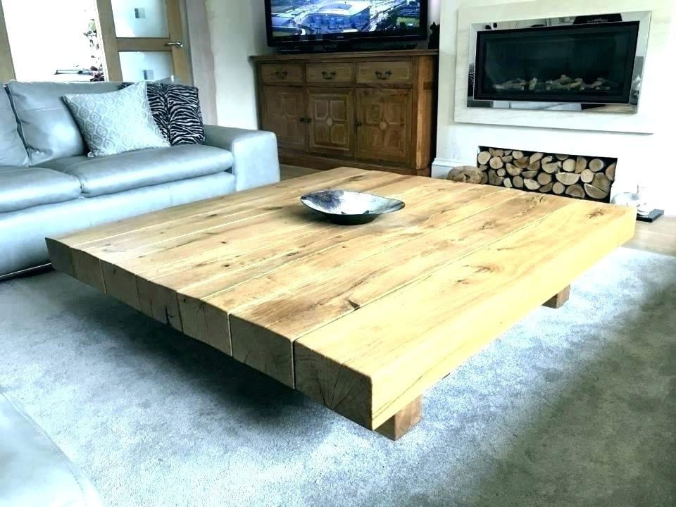 Large Square Glass Coffee Table Litecoinjackpotco Large Square Coffee Tables Large Square Coffee Tabl Grande Table Basse En Bois Table Basse Grande Table Basse