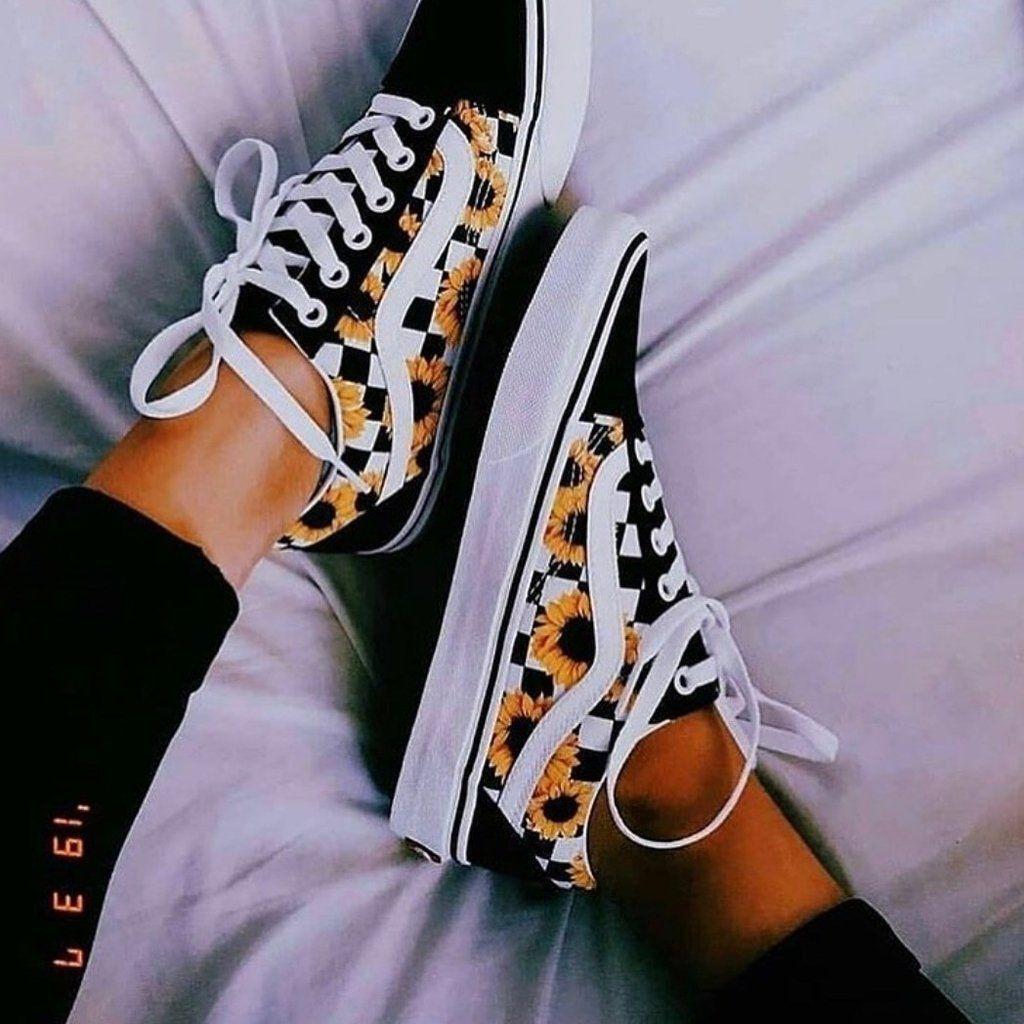 chaussure vans damier femme