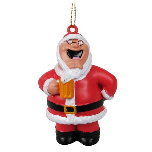 Family Guy Santa Peter Griffin Blow Mold Ornament - Kurt S. Adler - Family  Guy - Holiday Ornaments at Entertainment Earth - Family Guy Santa Peter Griffin Blow Mold Ornament Christmas