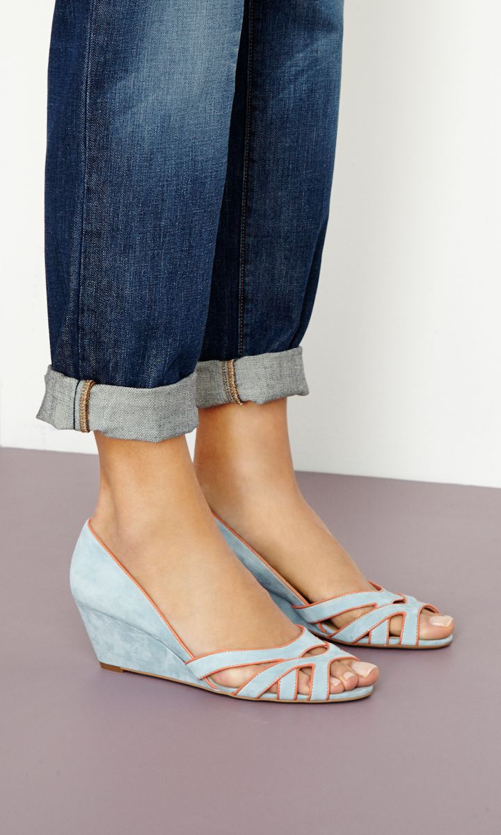 light blue | Fabulous shoes, Fashion
