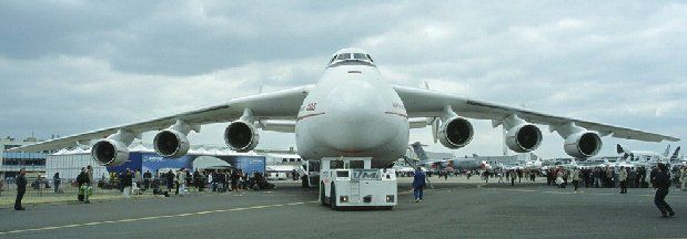 Largest Military Transport Aircraft Giant Russian Cargo Plane