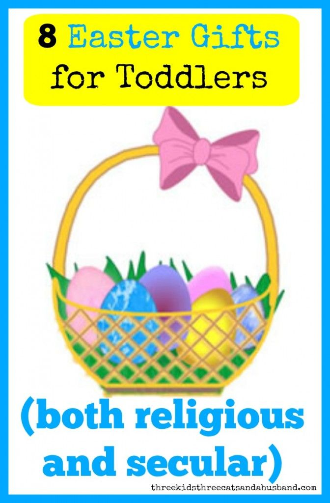 Great easter gifts for toddlers that arent candy march 2018 easter 8 adorable easter gifts both religious and secular that would work well for babies negle Gallery