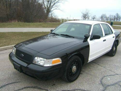 2009 Ford Crown Victoria Police Interceptor Cvpi Victoria Police