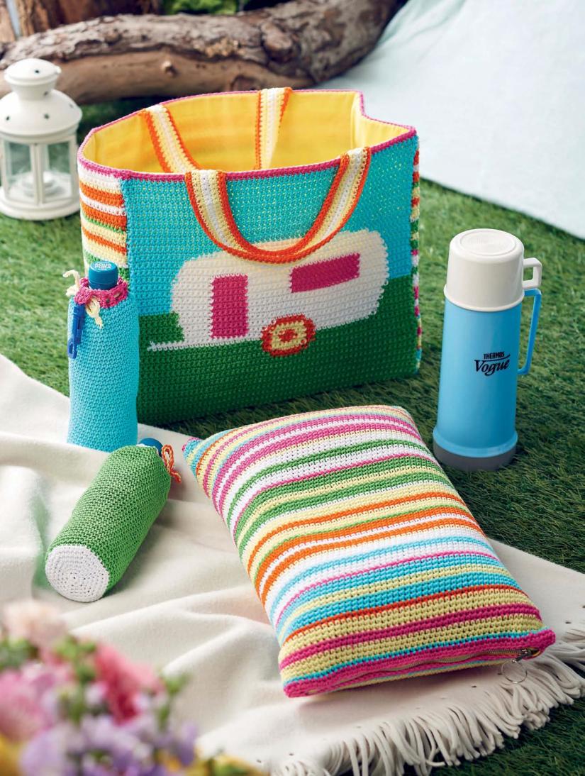 Camping Set | Crochet--Bags-Totes | Pinterest