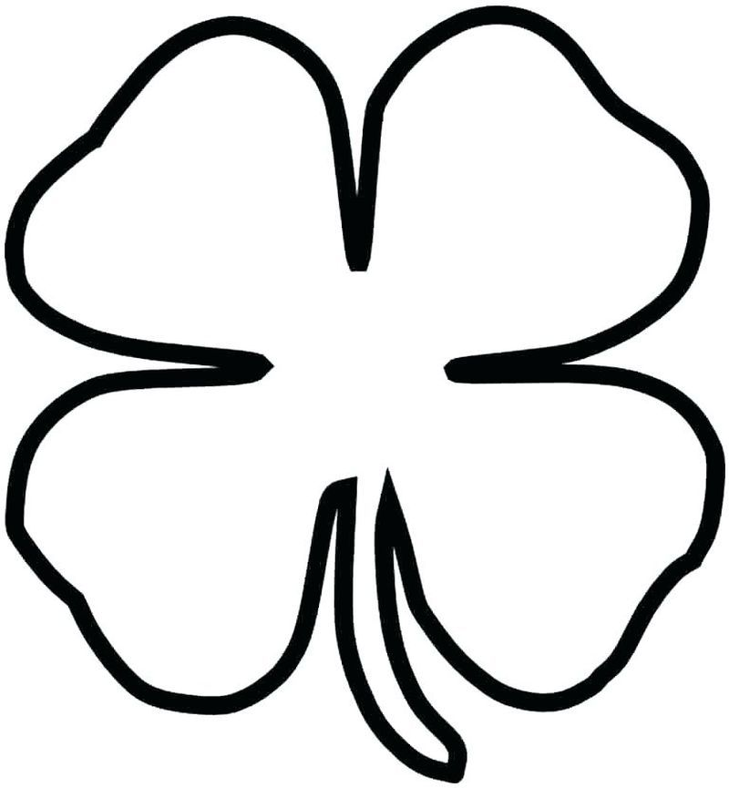 Complete Shamrock Coloring Pages To Print St Patrick S Day