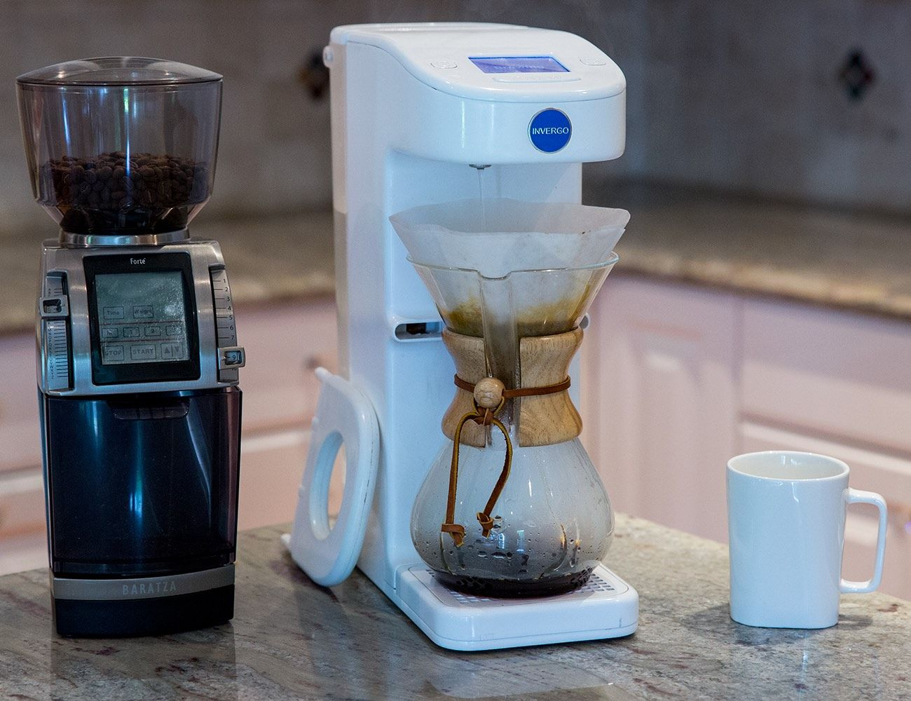 Invergo – The First Automated Pour Over Coffee System | Kitchen ...