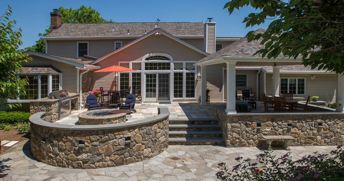 An Expert Hardscape Design From Borst Can Complement Both The