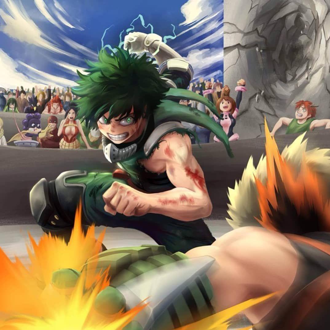 Who Will Win Next Time For More Bnha Follow Quirkoneforall Credi My Hero Academia Shouto Hero Hero Wallpaper