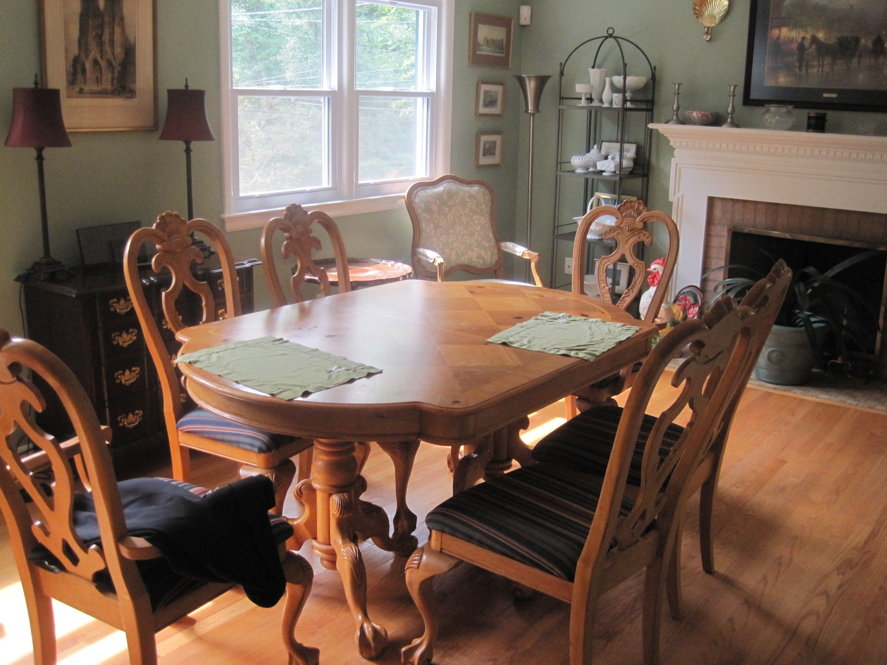 Pine Dining Room Set $1000  Arlington Httpfurnishly Fair Pine Dining Room Table And Chairs Decorating Design