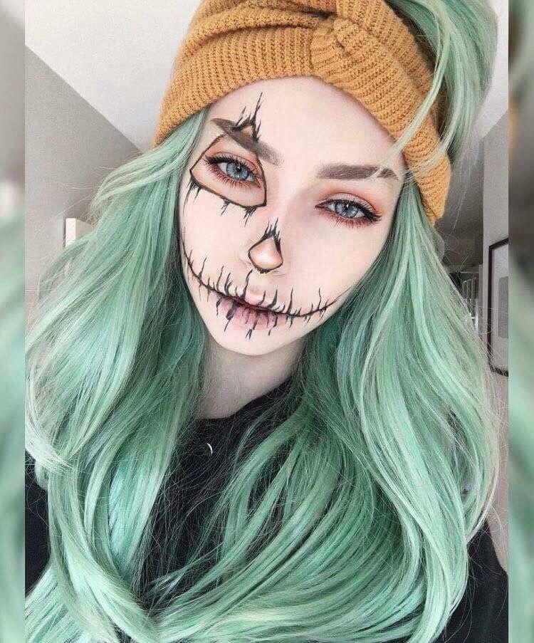 pinterest TypicalBieber Halloween makeup, Halloween, Makeup