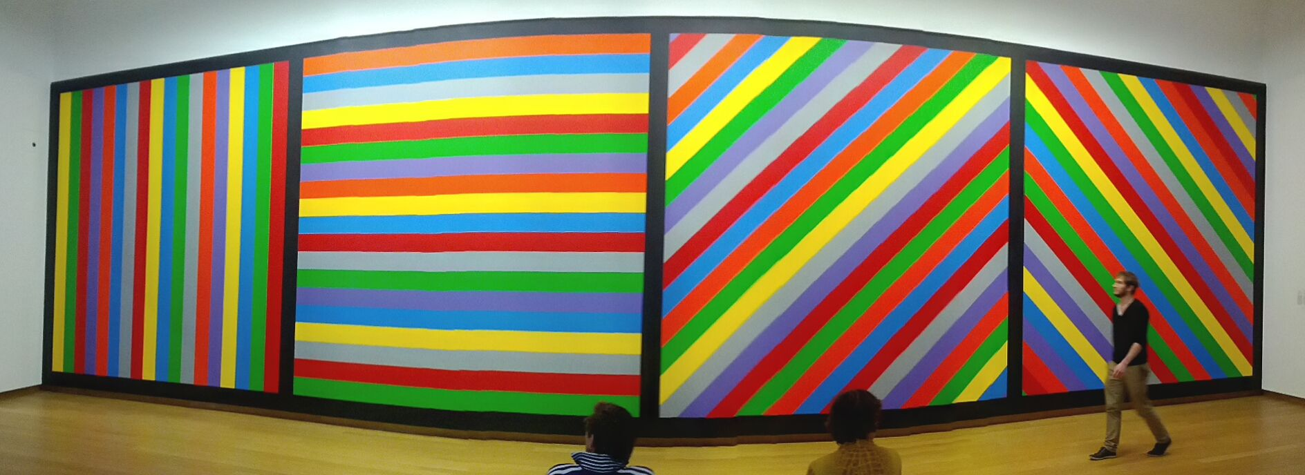 Sol LeWitt: Wall Drawing #1084, 2003