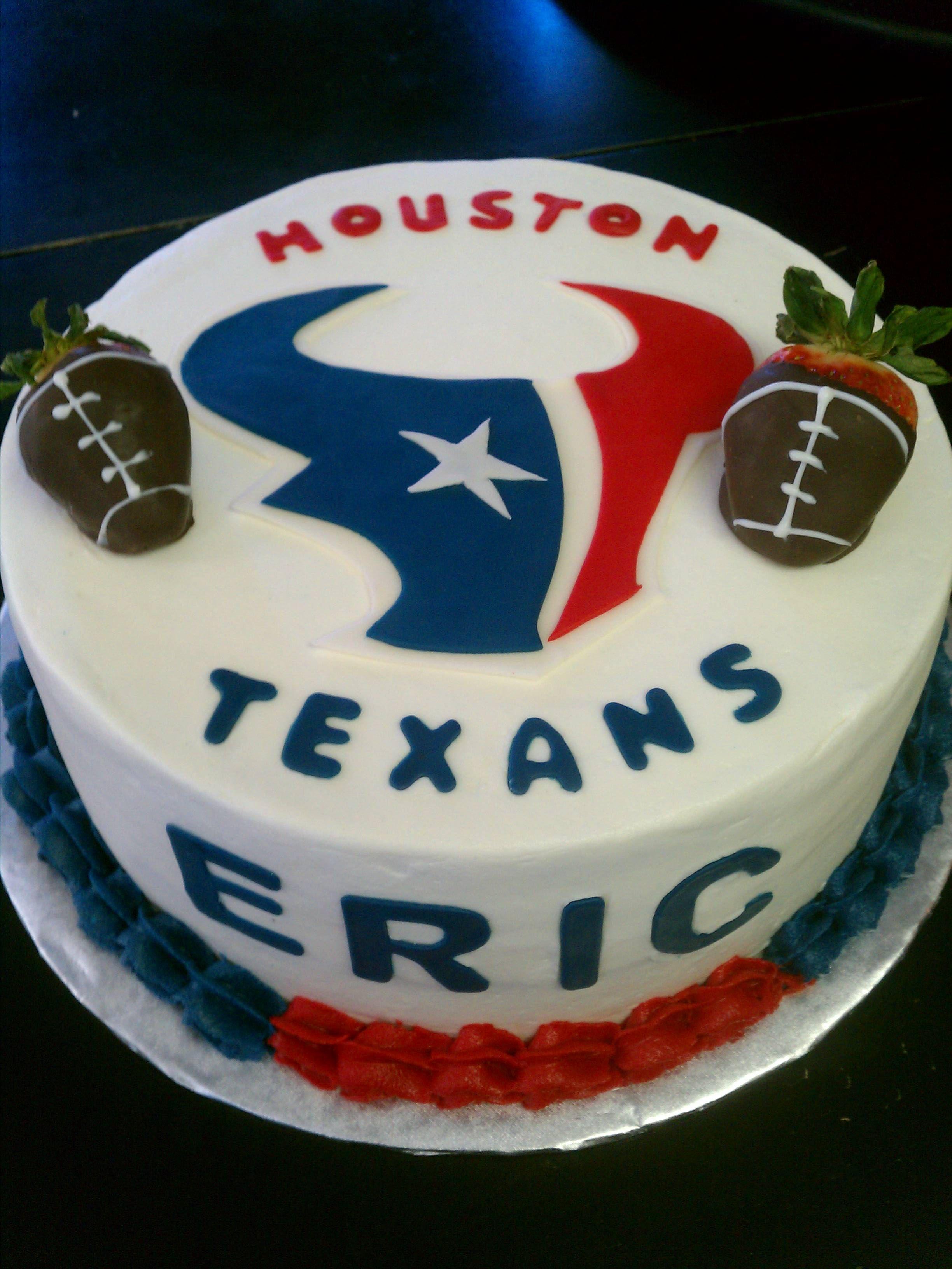 Houston texans texans cake houston texans cake sports